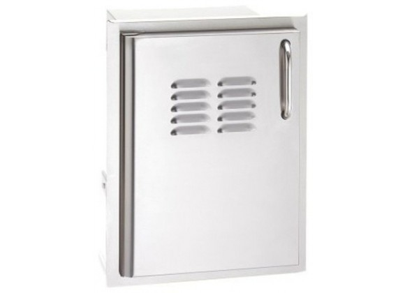 Fire Magic Select Single Access Door w/ Tank Tray and Louvers