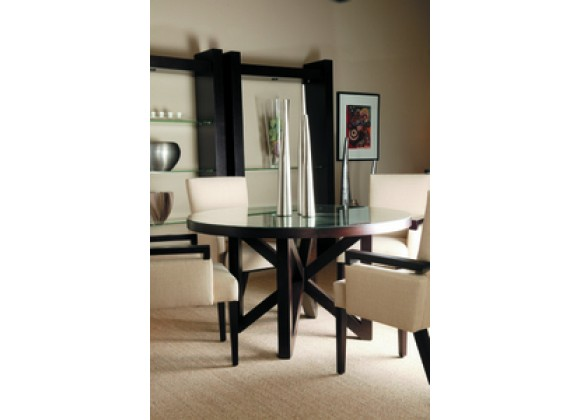 Allan Copley Designs Snowmass Round 54 Inch Dining Table