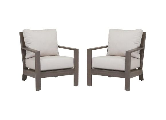 Laguna Club Chair With Cushions - In Pairs