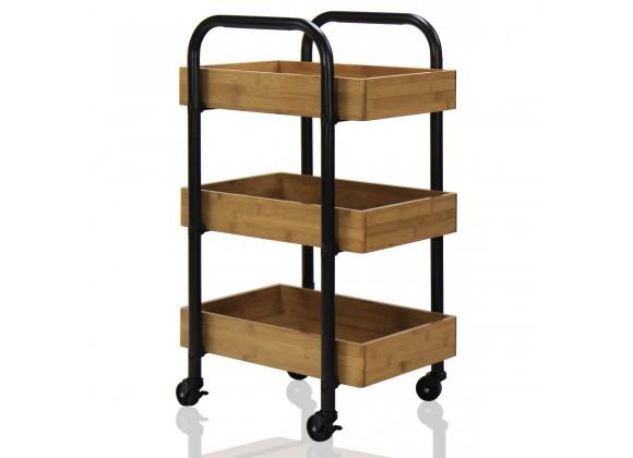 Oceanstar Portable Storage Cart - Lifestyle