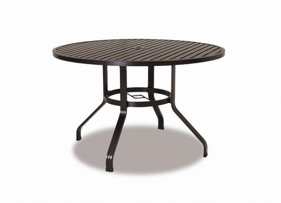 "Sunset West La Jolla Aluminum 48"" Round Dining Table"