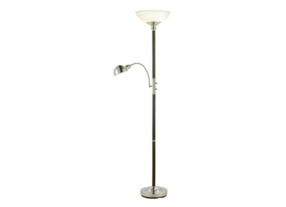 Adesso Lexington Floor Lamp w/ Adjustable Reading Light