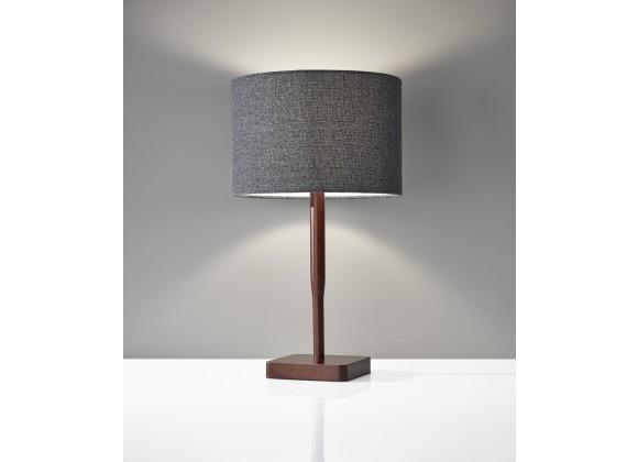 Ellis Table Lamp - Walnut