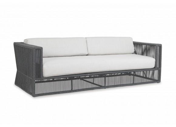 Milano Sofa With Cushions In Echo Ash