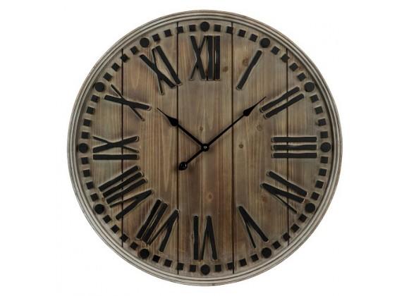 Cooper Classics Linden Oversized Wall Clock