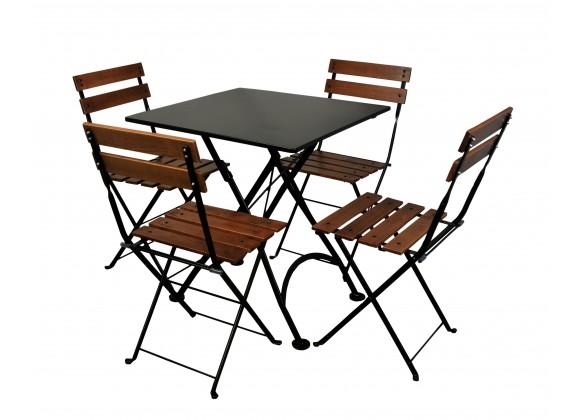 French Café Bistro Dining Set - 5 Pieces