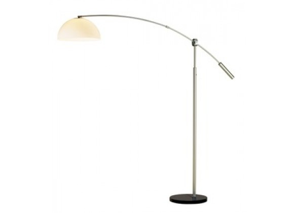 Adesso Outreach Oversized 90 Inch Contemporary Arc Floor Light