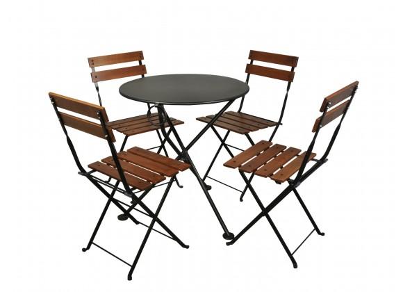 French Café Bistro Dining Set - 3 Pieces