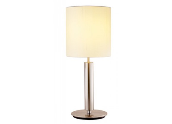 Adesso Hollywood Over Size Steel Pole Home Table Lamp