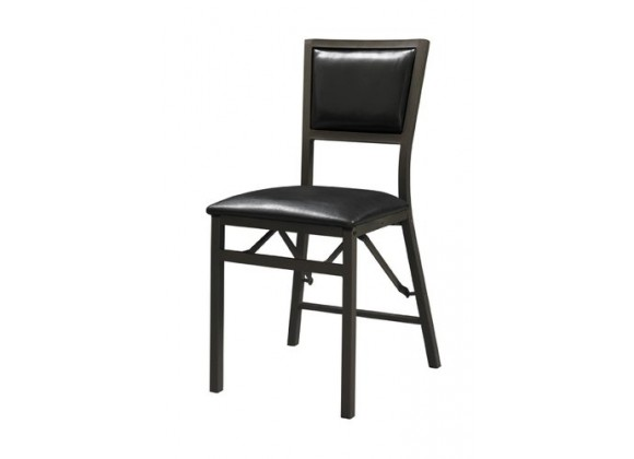 Linon Padded Back Folding Chair