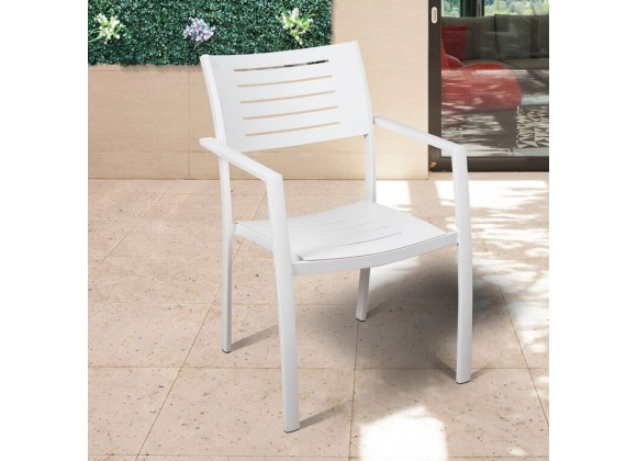 Atlantic Noordam 4 Piece Patio Armchair Set