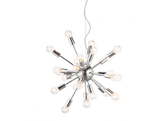Zuo Modern Pulsar Ceiling Lamp Chrome