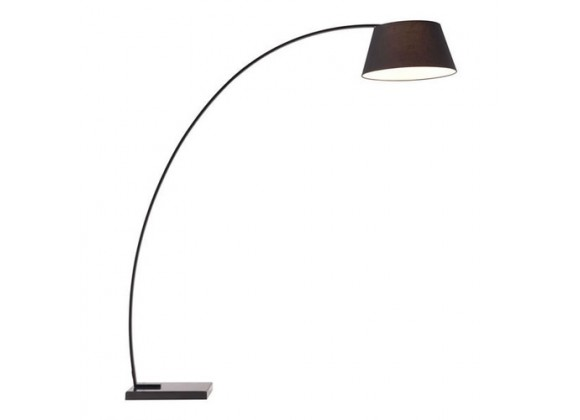 Zuo Modern Vortex Floor Lamp Black