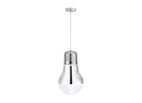 Zuo Modern Gilese Ceiling Lamp Chrome