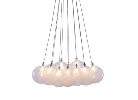 Zuo Modern Cosmos Ceiling Lamp Clear
