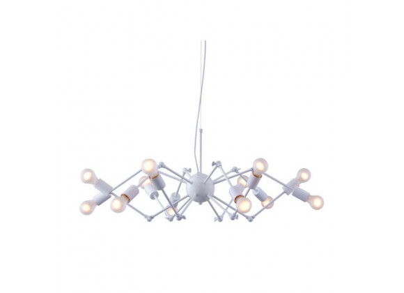 Zuo Modern Sleet Ceiling Lamp White