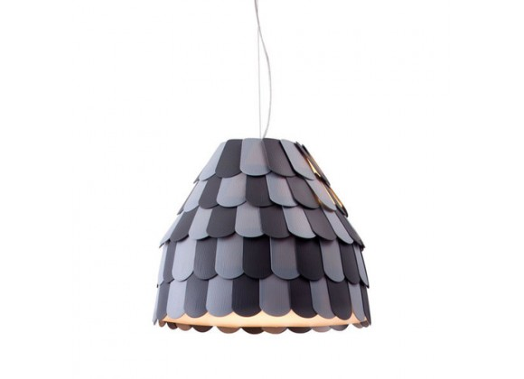 Zuo Modern Mesocyclone Ceiling Lamp Gray - On SALE!