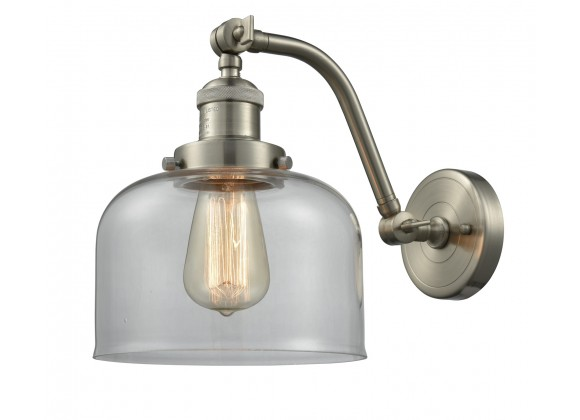Double Swivel Wall Sconce - CLEAR  GLASS