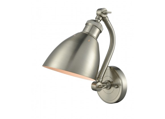 Metal Shade Double Swivel Wall Sconce - METAL ANGLE SHADE