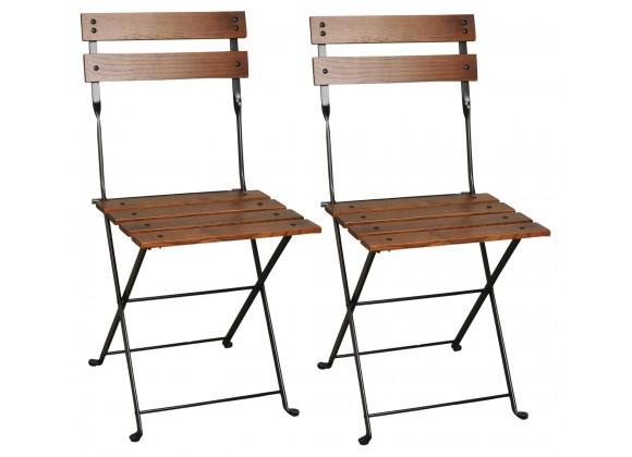 French Café Bistro Folding Side Chair