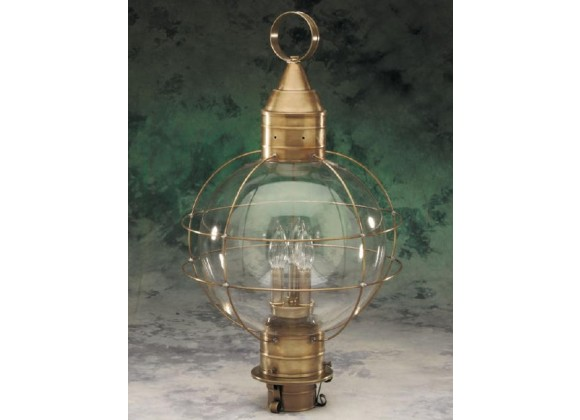 600-3 Extra Large Post Mount Onion Light