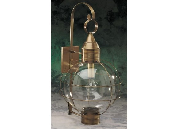 601 Extra Large Wall Mount Onion Light