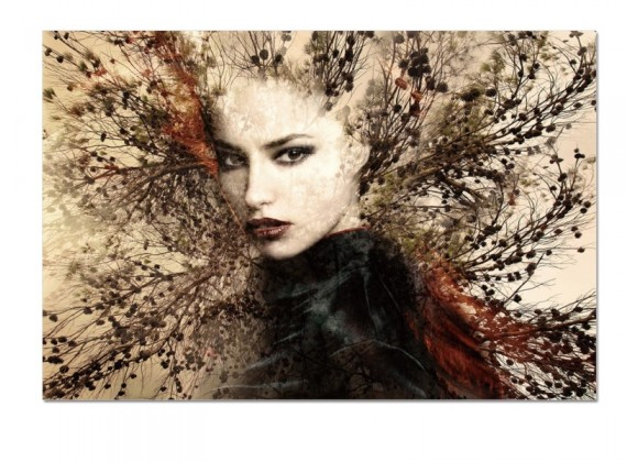 Bellini Modern Living Acrylic Picture of Her - SORCERESS