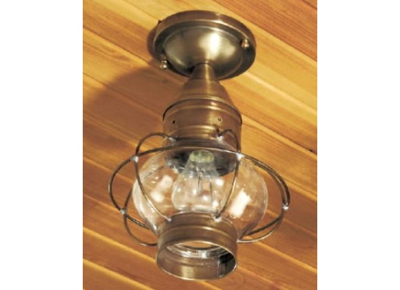 633 Small Flush-Mount Onion Light