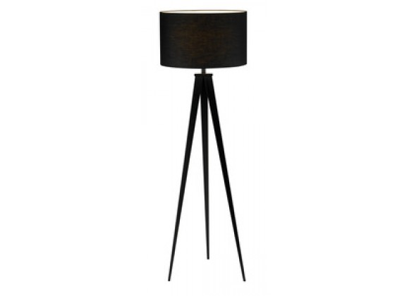 Adesso Director 62 Inch Tripod Base Floor Lamp with Shade
