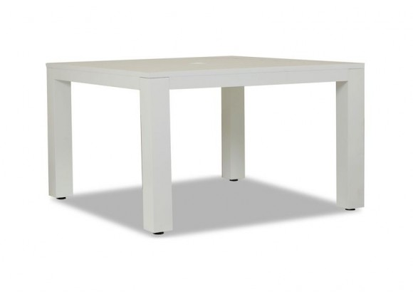 """Sunset West Newport 48"""" Square Dining Table - Perspective"""