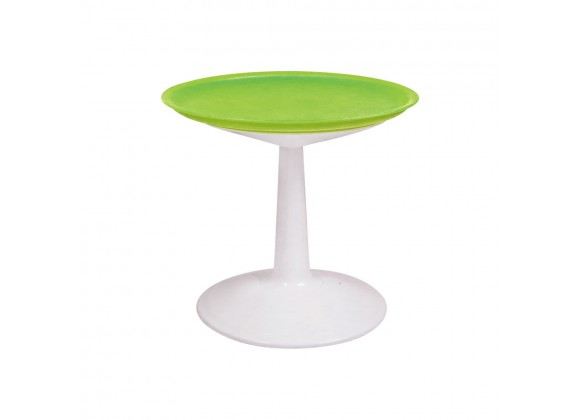 Sprout Green Round Side Table