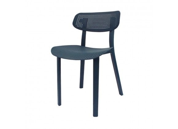 Toppy Speck Dinning Chair - Cool Mint - Left Angled View