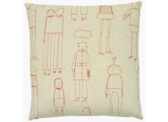 k studio Everyday People Pillow