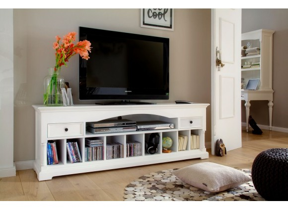 Provence Media Console And Entertainment Center - Lifestyle