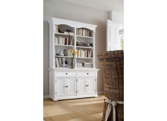 Large Hutch Cabinet, Bookcase Or Buffet