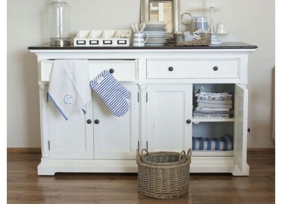 Provence Accent Buffet With 2 Drawers And 2 Double Doors