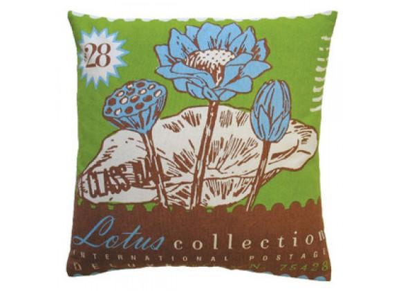 Koko Company Postage Lotus Pillow