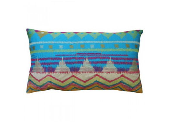 "Koko Company Java Bright Pillow 15"" x 27"""