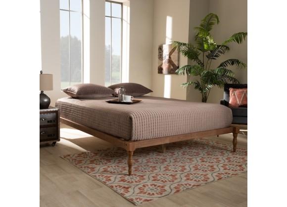 Baxton Studio Iseline Platform Bed Frame