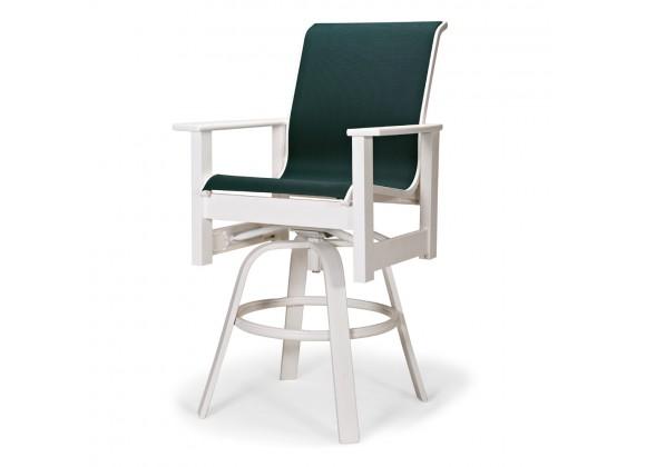 Telescope Casual Leeward MGP Sling Balcony Height Swivel Arm Chair