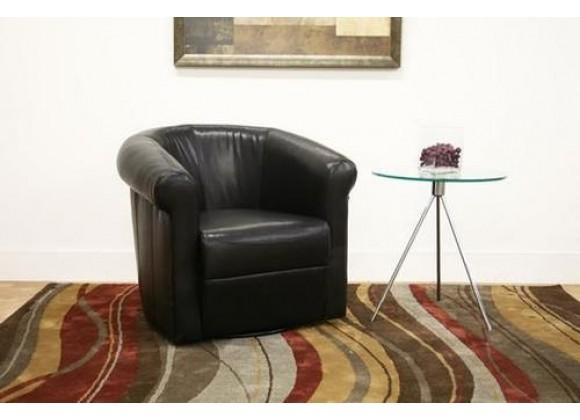 Baxton Studio Julian Faux Leather Club Chair