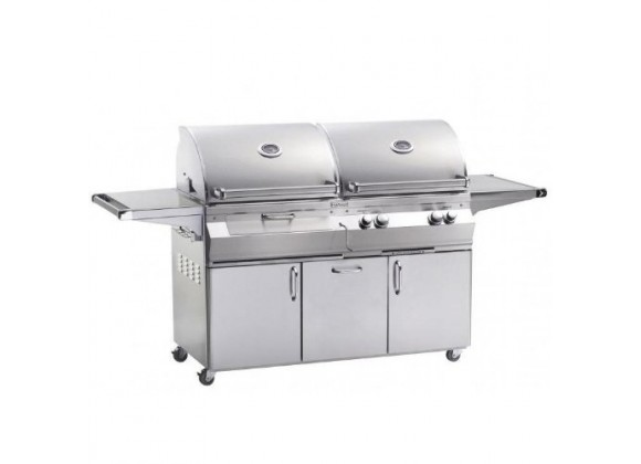 Fire Magic Aurora A830s Gas/Charcoal Combo Grill
