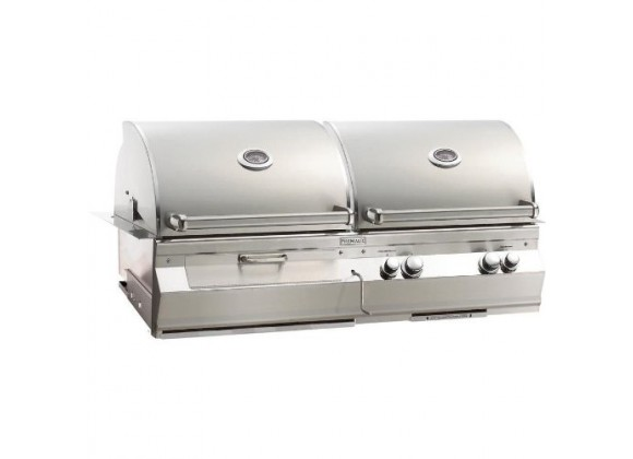Fire Magic Aurora A830i Propane Gas And Charcoal Combo Built-in Grill