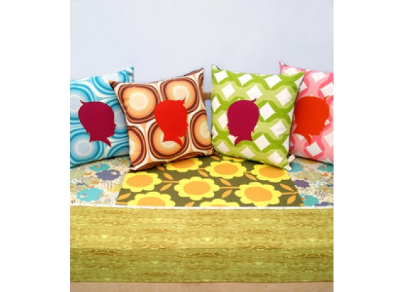 Aunt Bucky Granny Patch' Summer Forest Patchwork Fitted Crib Sheet