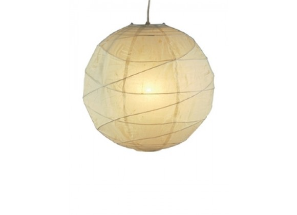 Adesso Orb Contemporary Asian Style Pendant Lamp