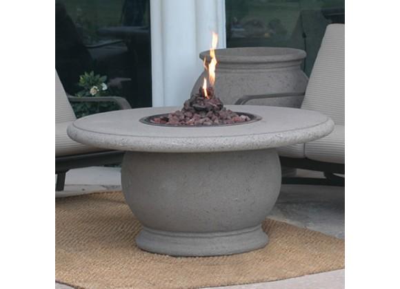 American Fyre Designs Amphora Firetable With Concrete Top