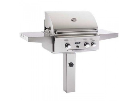 "American Outdoor Grill 24"" In-Ground Post Gas Grill"