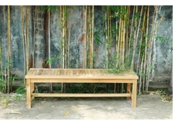 "Anderson Teak 59"" Casablanca 3-Seater Backless Bench"