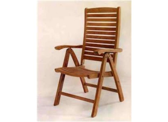 Anderson Teak Carina 5-Position Highback Recliner