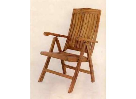 Anderson Teak Katana 5-Position Recliner Armchair